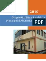 Diagnóstico Situacional Municipalidad Distrital de Pueblo Nuevo