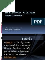 Inteligência multiplas apresentação