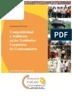 Competitividad y Ambiente Zonas Cacaoteras Centroamerica