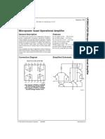 Amplificador Operacional  -  LP324