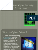 ppt -Cyber Crime, Cyber Security and Cyber Laws