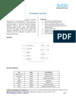 SPI Master Datasheet