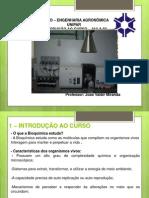 BIOQUIMICA - aulas 1 - 2 - 3