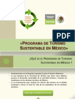Programa de Turismo Sustentable en México