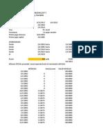 Planilla para simulación del NF18