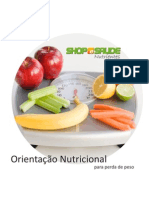 Orientação nutricional para perder peso