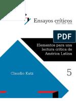 Katz, C. - Elementos para una lectura crítica de América Latina [2009]