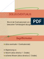 Dolus Eventual Is