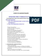 Estrutura Para o Trabalho de Tcc1e2