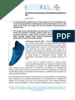 2012.07.18 - EL RECUBRIMIENTO IMPRANIL® INTRODUCE INNOVACIONES EN LAS ZAPATILLAS DE ATLETISMO Y LA ROPA DEPORTIVA DE ADIDAS