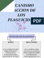 Mecanismo de Accion Insecticidas