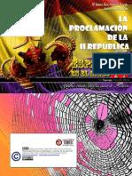 La proclamación de la II República - España siglo XX