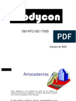 NTC-ISO IEC 17025