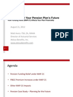 MAP-ping Out Your Pension Plan's Future