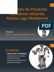 Robotica Educativa Con LEGO