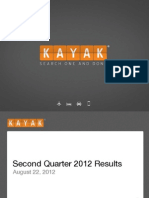KAYAK Q2 2012 Earnings Presentation