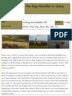 The Dog Rambler E-diary 21 August 2012