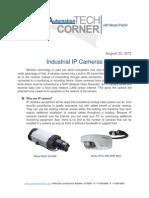 TechCorner 26 - Industrial IP Cameras