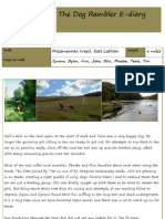 The Dog Rambler E-diary 22 August 2012