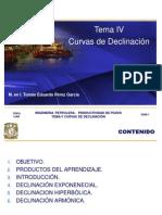 5. Curvas de Declinacion