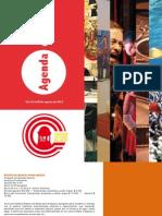 Boletín Corredor Cultural del Centro No. 8 (22 al 29 de agosto de 2012)