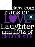 This Classroom LOTS of CHOCOLATE Purple