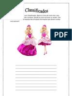Classificado Barbie