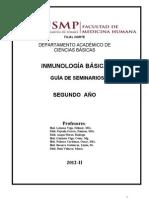 Inmunologia2012-GUIASEMINARIOS