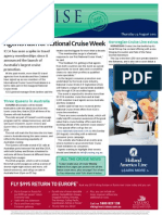 Cruise Weekly for Thu 23 Aug 2012 - National Cruise Week boom, Queens in Australia, Pacific Progress, RCI sale extension and much more...