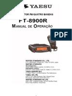 FT-8900R Manual de Operacao