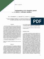 Fundamentos Cristalograficos de La Sistematica General de Los Sulfuros y Sulfosales Metalicos