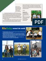 RT Vol. 9, No. 1 Rice Today around the world