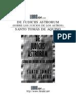 Santo Tomás de Aquino_De Iudiciis Astrorum