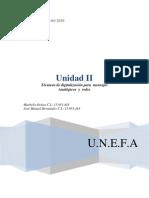 Unidad II - Técnicas de digitalización para  mensajes