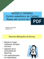 Present Ac in Modelo Deming