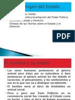 Conferencia 4 Estado y Derecho Teorías