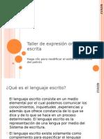 Taller de Expresion Oral y Escrita 26-04