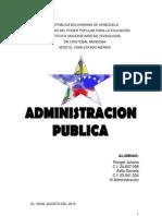 Administracion Publica