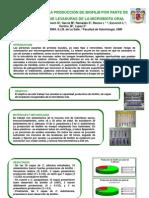 EVALUACIÓN DE LA PRODUCCIÓN DE BIOFILM POR PARTE DE AISLAMIENTOS DE LEVADURAS DE LA MICROBIOTA ORAL