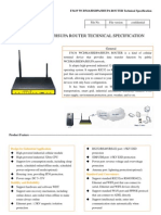 f3434 HSPA 3g Router Specification And User Manual