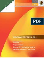 A.E. - Educacion Ambiental Para La Sustentabilidad en Veracruz