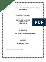 DIRECCIÓN MAC, IP
