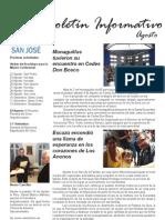 Boletín Agosto