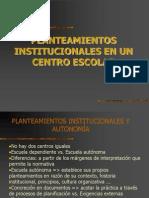 3- Pea. Institucional