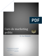 Dan Mihalache Curs de Marketing Politic