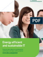 Green and Sustainable IT