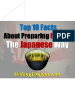 Top 10 Facts About Preparing Matcha The Japanese Way