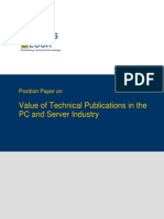 TWB Position Paper PC and Server Industry