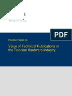 TWB Position Paper Telecom Hardware Industry