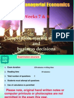 Market Structure & Competition